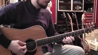 Game of Thrones Theme acoustic guitar cover / Игра престолов на гитаре