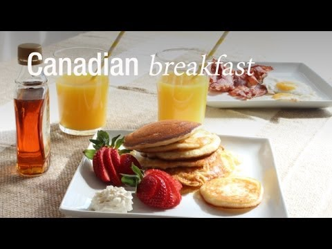 Canadian Breakfast - Robin au Canada : CuisineAZ