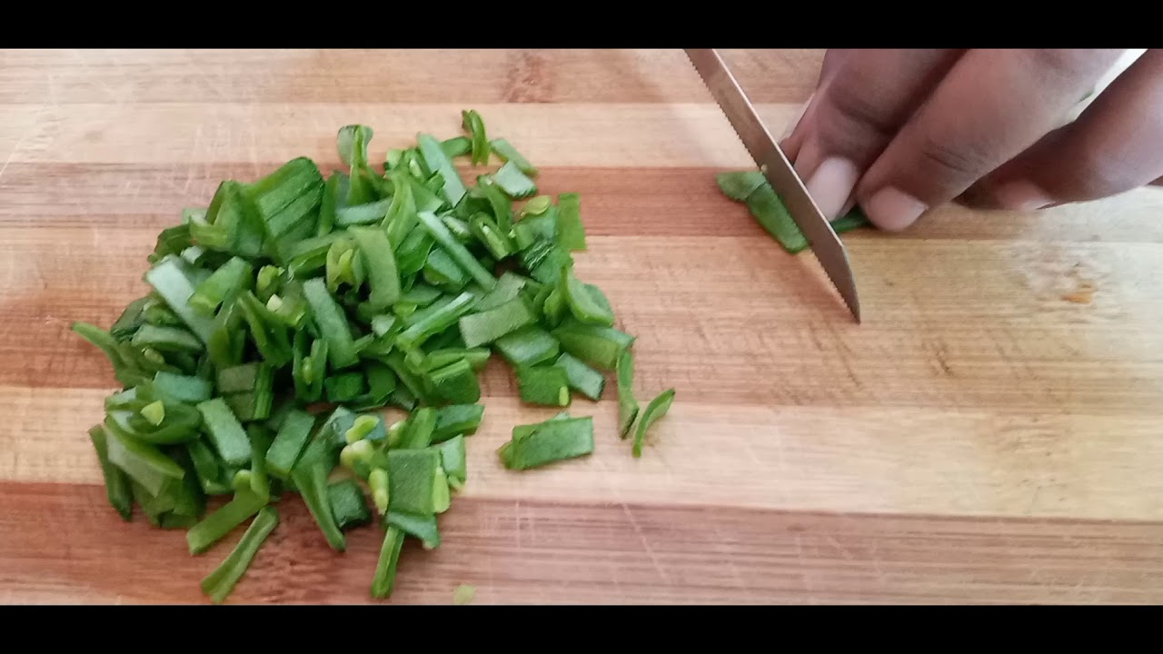 Broad Beans cutting | Natural Sound effect | Cutting Sound
