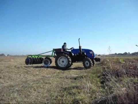 Трактор Донг Фенг 244 з дисковой бороной 2