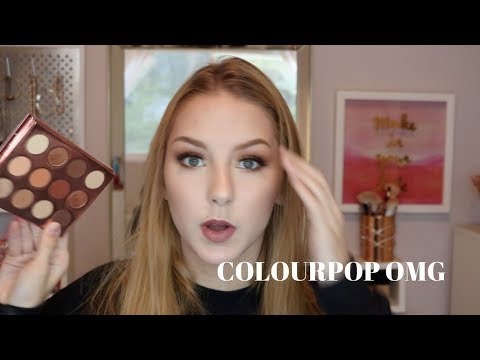 DOUBLE ENTENDRE | Colourpop Eyeshadow Palette Review & Tutorial | Stephanieo2000