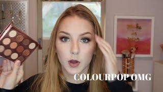 DOUBLE ENTENDRE | Colourpop Eyeshadow Palette Review & Tutorial | Stephanieo2000