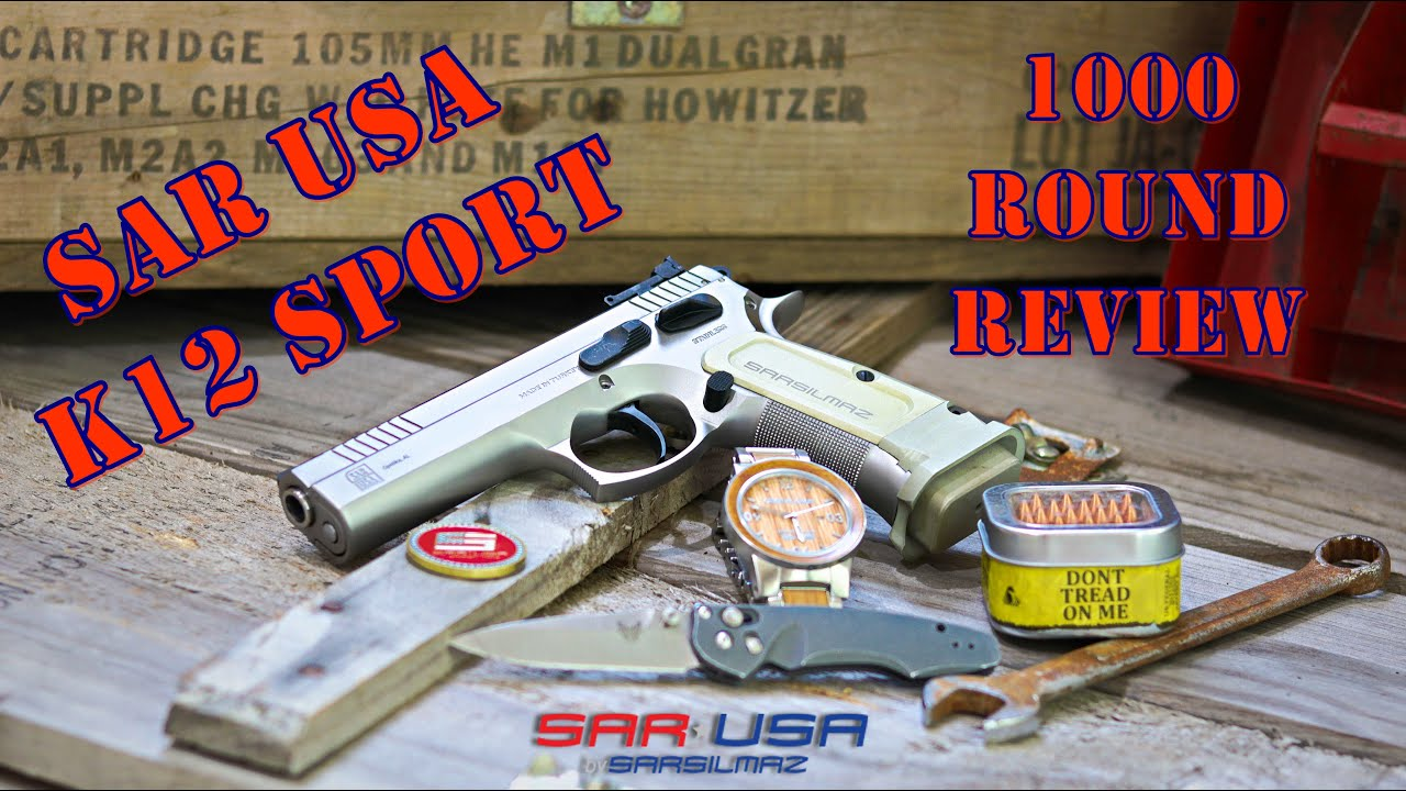 Sar USA K12 Sport 1000 Round Review