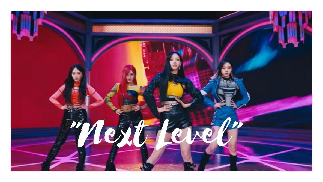 "AESPA's ""NEXT LEVEL"" top spot on Melon's 24Hits chart"