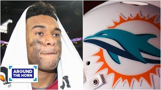 Tua will go to the Dolphins ... unless the Chargers jump them - Mina Kimes | Around the Horn