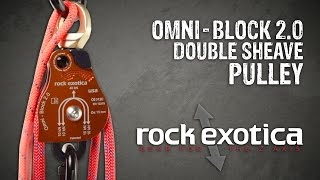 Rock Exotica Omni-Block P53D Double Sheave Pulley - GME Supply