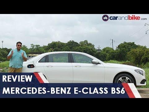 Mercedes-Benz E-Class BS6 Review | NDTV carandbike