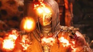 "AMAZING HELL FIRE SCORPION - Mortal Kombat X ""Reptile"" Gameplay (Mortal Kombat XL)"