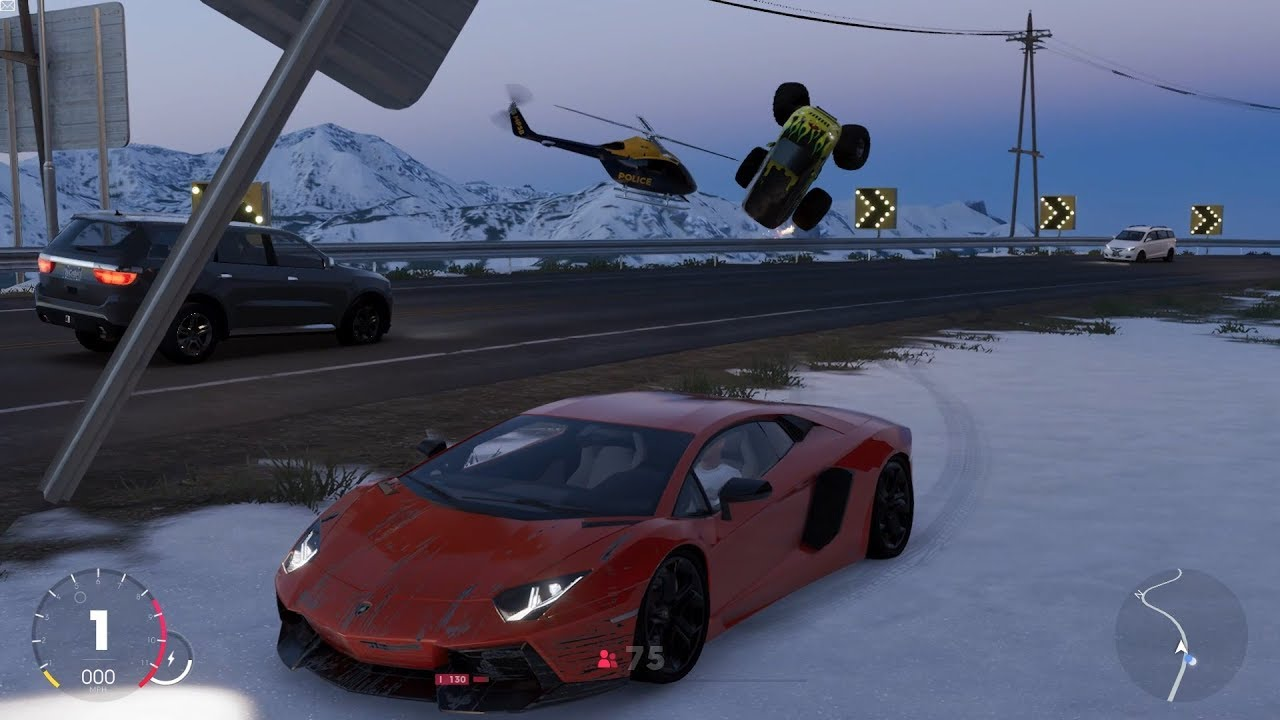 The Crew 2 Fully Upgraded 330mph Lamborghini Aventador Lp700 4