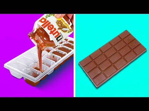 26 IDEAS DE CHOCOLATE QUE CUALQUIERA PUEDE HACER
