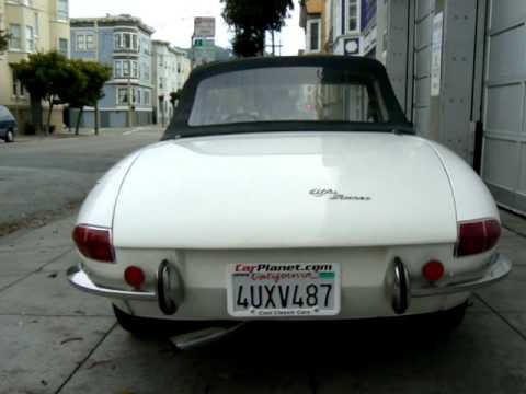 Walking Around A Alfa Romeo Duetto Spider For Sale At CarPlanet - 1967 alfa romeo duetto spider for sale
