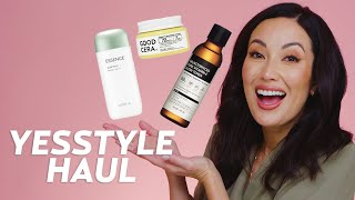 YESSTYLE Korean Skincare Haul: Trying Purito, Missha, COSRX, & More! | Skincare with @Susan Yara
