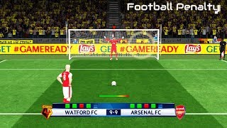 Watford vs Arsenal | Penalty Shootout | PES 2017 Gameplay