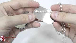 USB флешка - Армейский жетон(http://www.telegraf-spb.ru/product/usb-fleshka-zheton/ Флешка выполнена в виде армейского жетона, состоит из двух металлических..., 2014-09-15T14:31:17.000Z)