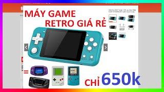 Máy chơi game cầm tay Powkiddy Q90 - Máy Game Retro giá rẻ nhất trên Shopee