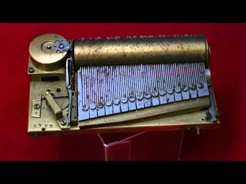 Sectional Comb music box musical movement