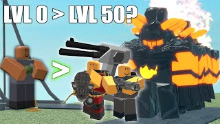 Being a TDS PRO with a level 0 tower   ROBLOX