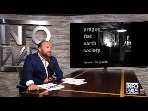 alex jones reacts to flat earth stand-up comedy
