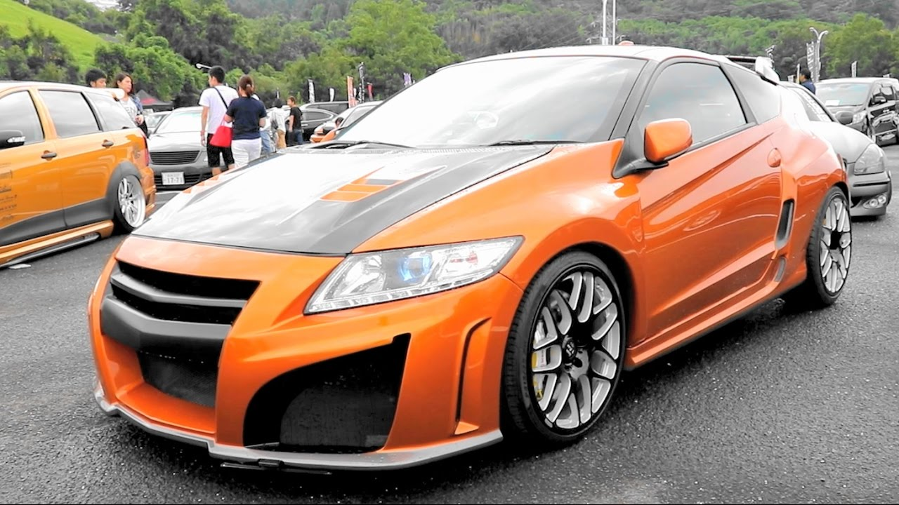 2016 Honda Cr Z >> (HD)HONDA CR-Z modified ホンダCRZカスタム - Zeal杯2016 車イベント - YouTube