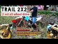 Motor Trail 2wd Motocross Awd Sukabumi Test Lumpur Sawah