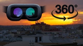 #3DVR360VIDEOS #360video #VR360 #sunset #rajkot #india