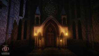 Gothic Cathedral and Medieval Art Set (UDK environments)