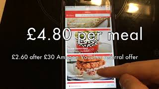 MealPal Review, How it works and how to earn a £30 Amazon Gift Voucher