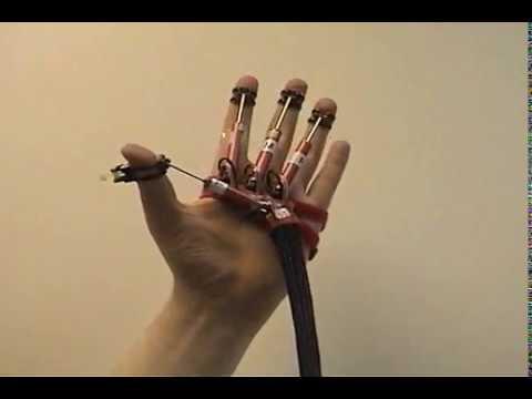 Force Feedback Data Glove