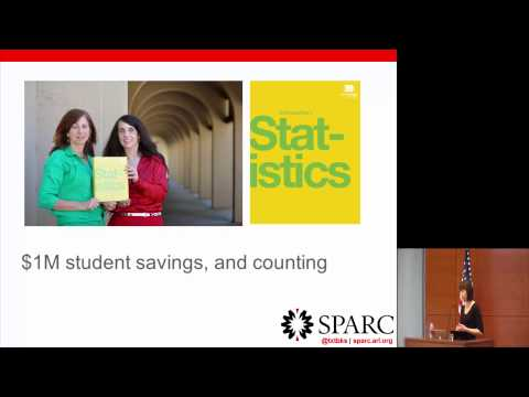 Open Educational Resources by Nicole Allen, Director of Open Education, SPARC