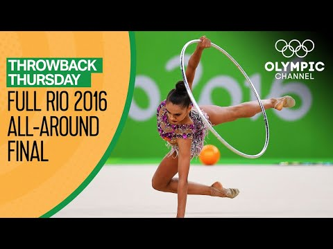 Full Individual Women's Rhythmic Gymnastics Replay from Rio 2016 | Throwback Thursday