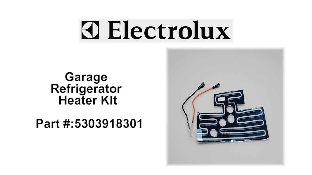 Electrolux Garage Refrigerator Heater Kit