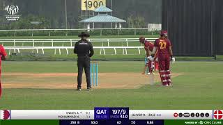 ICC CRICKET WORLD CUP CHALLENGE LEAGUE A  DENMARK vs QATAR