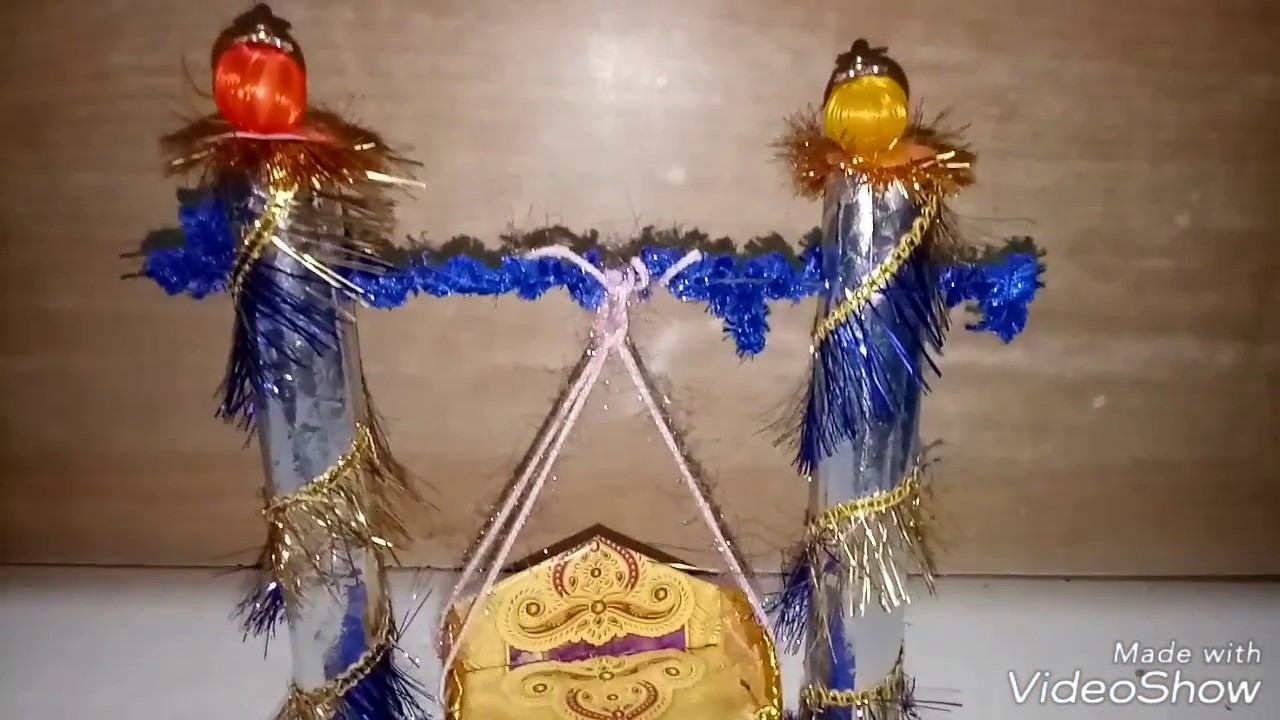 How to make jhula for bal gopal janmashtami special for How to make jhula at home