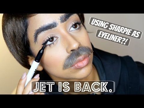 Thumbnail: SHARPIE FOR EYELINER?! INTERVIEW WITH JET.