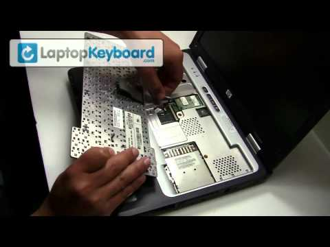 HP Compaq Pavillion Keyboard Installation Guide (Replacement) - Remove Replace Install Laptop