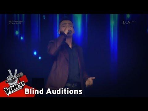 Ζάχος Καραμπάσης – Άκου | 8o Blind Audition | The Voice of Greece