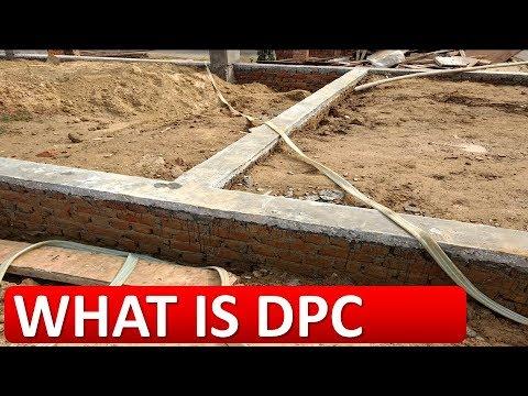 WHAT IS DPC ( DAMP PROOF COURSE) डीपीसी क्या है?