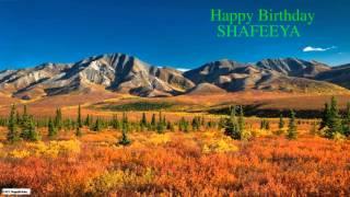 Shafeeya   Nature & Naturaleza