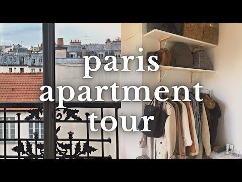 Paris Studio Apartment Tour 🚪 Decorating On A Budget!   May17th
