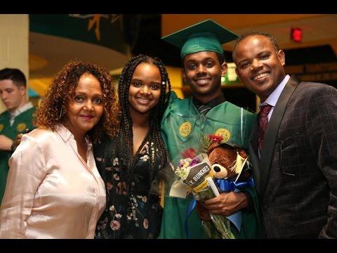 Feker Yehunie Belay   George Mason Class of 2017 🎓 Graduation Ceremony