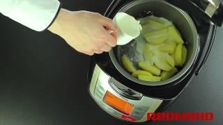 Картошка в мультиварке. Сладкий картофель в мультиварке REDMOND M4502
