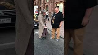 Александр Ревва угорает на съемках Бабушка легкого поведения 2