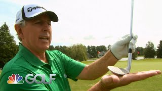 Hale Irwin explains how to chip from tight lies | Golf Instruction Tips | Golf Channel