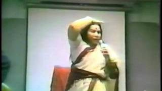 Shri Mataji Kundalini Awakening (Sahaja Yoga) - Houston Texas 1983 (Self Realization) Kundalini