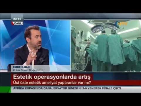 Dr.Süreyya Şeneldir Burun Estetiği NTV Gece Bülteni