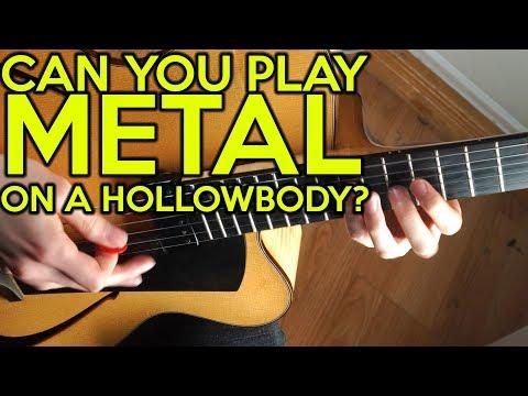 Can you play METAL on a HOLLOWBODY?  | SpectreSoundStudios