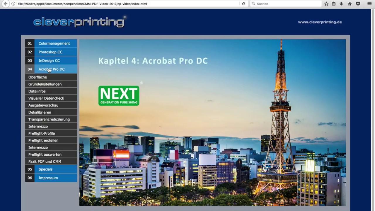PDF/X und Colormanagement 2017 - Einleitung