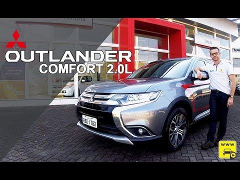 Mitsubishi Outlander Comfort 2.0L 7 Lugares em detalhes Mp3