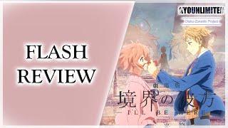 "Flash Review, Movie (Anime).- Gekijouban: Kyoukai No Kanata - I'll Be Here - ""Mirai Hen"""