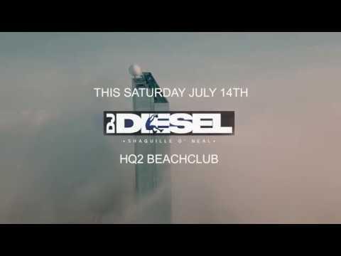 SHAQ At HQ2 Beachclub   Atlantic City